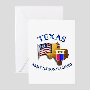 Texas home flag greeting cards cafepress army national guard texas w flag greeting card m4hsunfo