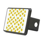 Rubber Duck Pattern Rectangular Hitch Cover