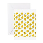 Rubber Duck Pattern Greeting Cards (Pk of 20)