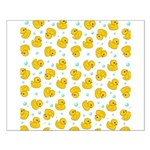 Rubber Duck Pattern Poster Design