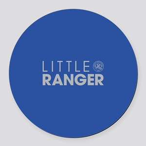 Queens Park Little Ranger Round Car Magnet