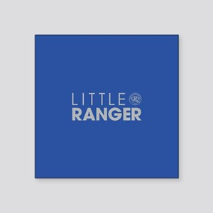 "Queens Park Little Ranger Square Sticker 3"" x 3"""