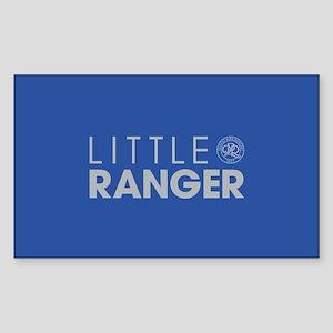 Queens Park Little Ranger Sticker (Rectangle)