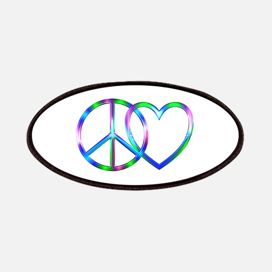 Shiny Peace Love Patch