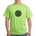 Mimbres Teal Quail Green T-Shirt