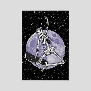 Board Skeleton Rectangle Magnet