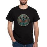 Mimbres Teal Quail Dark T-Shirt