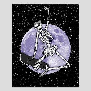 Board Skeleton Small Poster