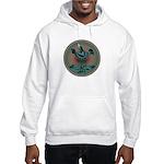 Mimbres Teal Quail Hooded Sweatshirt