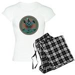 Mimbres Teal Quail Women's Light Pajamas