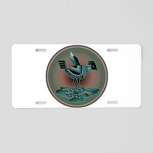 Mimbres Teal Quail Aluminum License Plate