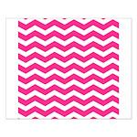 Hot pink chevron Poster Design