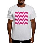 Hot pink chevron T-Shirt