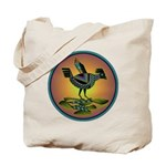 Mimbres Sunset Quail Tote Bag