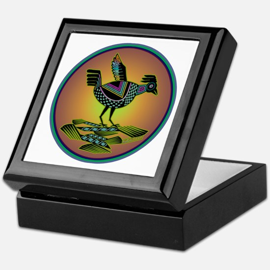 Mimbres Sunset Quail Keepsake Box