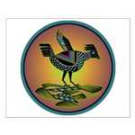 Mimbres Sunset Quail Small Poster