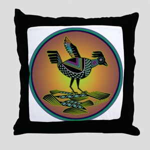 Mimbres Sunset Quail Throw Pillow