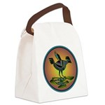 Mimbres Sunset Quail Canvas Lunch Bag