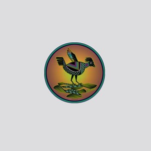 Mimbres Sunset Quail Mini Button