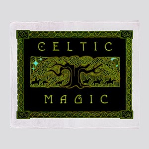 Celtic Magic - The Great Tree Throw Blanket