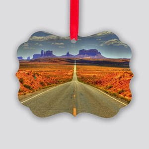 Monument Valley Picture Ornament