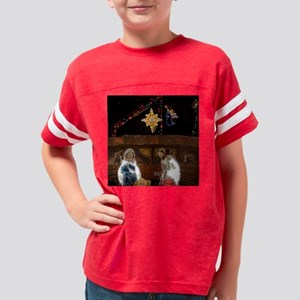 nativity6 Youth Football Shirt