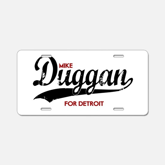 Scouting Aluminum License Plate