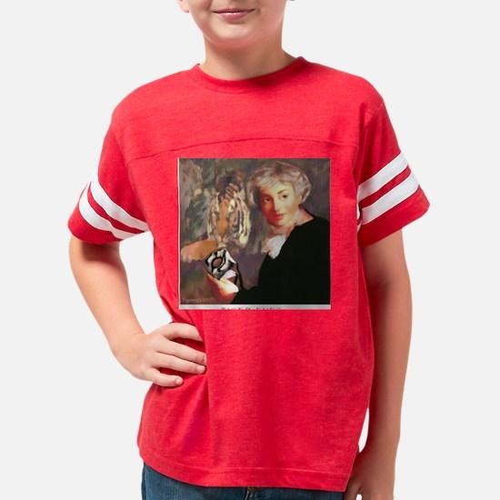 3-tigereyes 2500 framed Youth Football Shirt