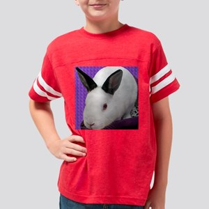 rabbit4805forblack copy Youth Football Shirt