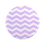 Lilac Purple and white Chevron 3.5