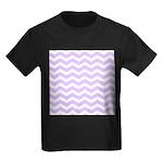 Lilac Purple and white Chevron T-Shirt