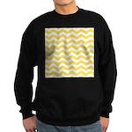 Yellow and white Chevron Jumper Sweater