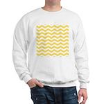 Yellow and white Chevron Jumper