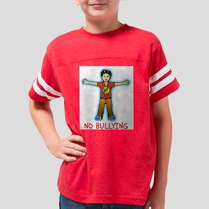 No Bullying Youth Football Shirt