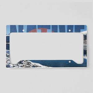 Colorado Native License Plate Holder