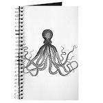 Vintage octopus Journal