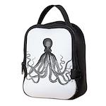 Vintage octopus Neoprene Lunch Bag