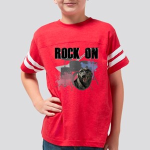 Shelter Pets Rock Pocket Youth Football Shirt