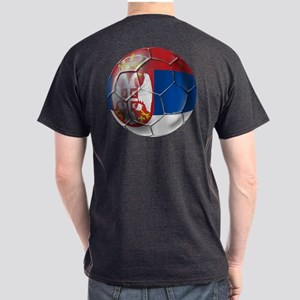 Serbian Football Dark T-Shirt