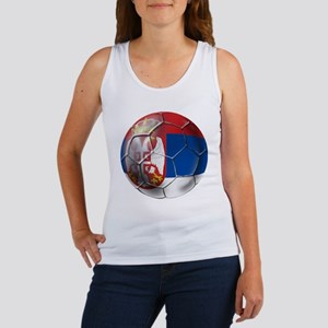 Serbian Football Women's Tank Top