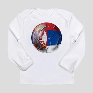 Serbian Football Long Sleeve Infant T-Shirt