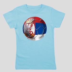 Serbian Football Girl's Tee