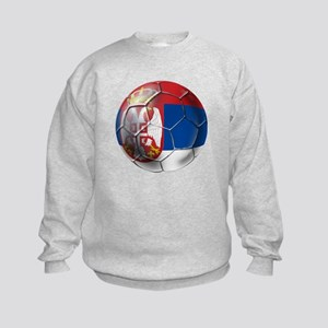 Serbian Football Kids Sweatshirt
