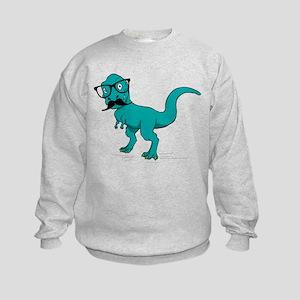 Hipster T-rex Sweatshirt