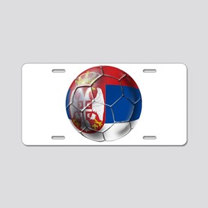 Serbian Football Aluminum License Plate