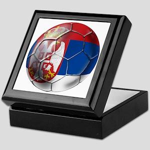 Serbian Football Keepsake Box