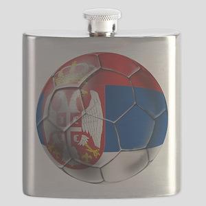 Serbian Football Flask