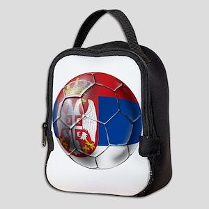 Serbian Football Neoprene Lunch Bag