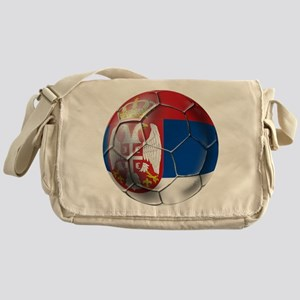 Serbian Football Messenger Bag