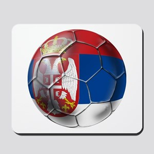 Serbian Football Mousepad